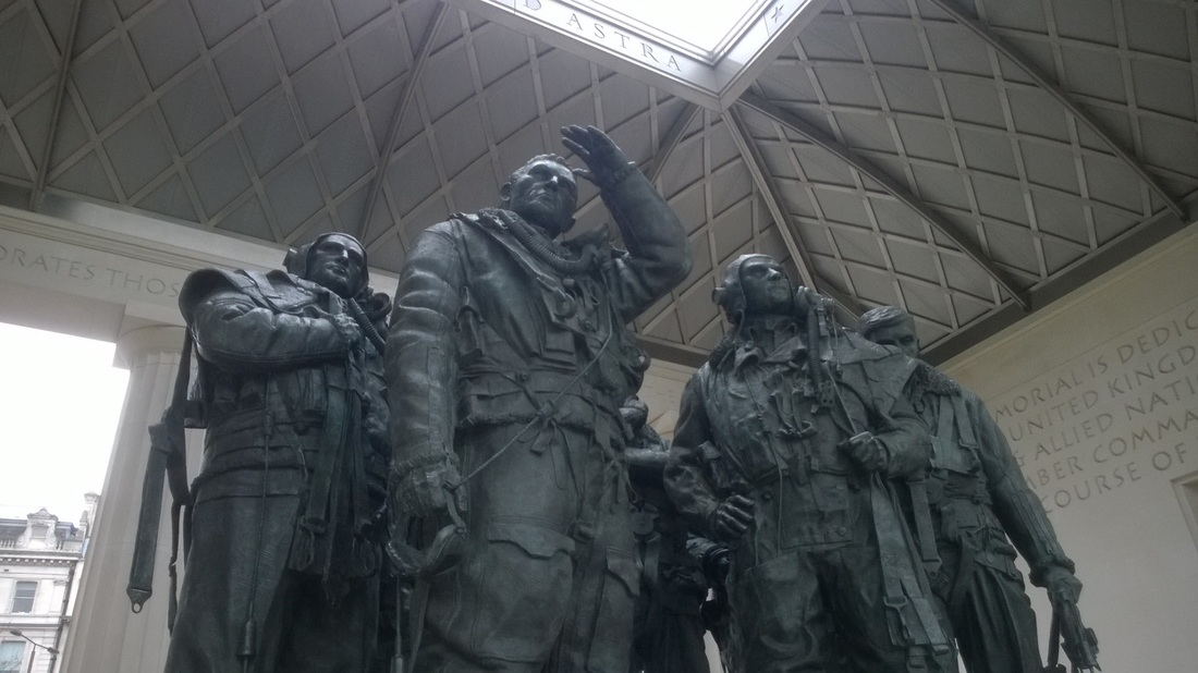 Bomber Command Memorial, Hyde Park Corner, London
